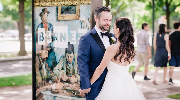 Rodin Museum Barnes Foundation wedding package