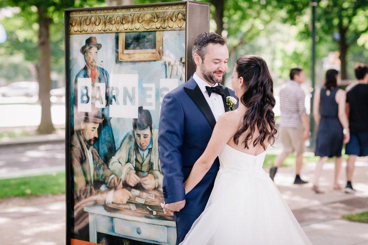 Rodin Museum Barnes Foundation wedding package