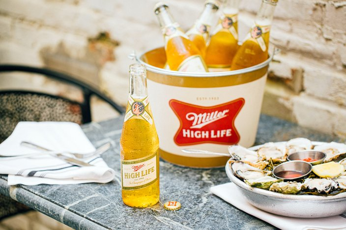 Royal Boucherie offering deal on oysters and Miller High Life for National Oyster Day