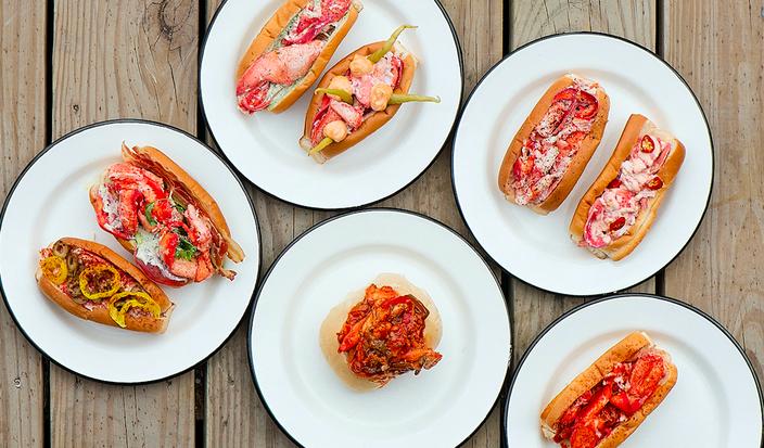 Luke's Lobster 10 year anniversary rolls