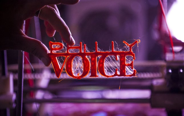 Carroll - 3D Printed PhillyVoice Logo