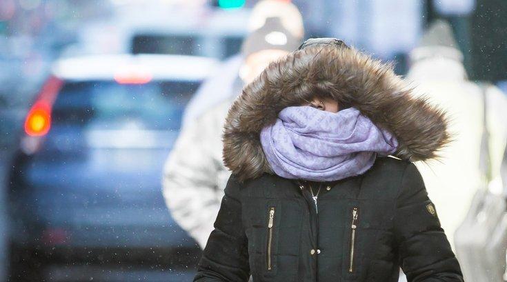 Arctic blast Philadelphia snow