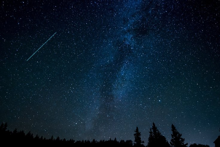 Philadelphia unicorn meteor shower