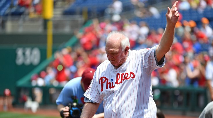 Charlie Manuel Phillies Covenant House