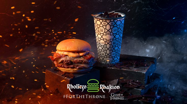 Shake Shack Game of Thrones menu items