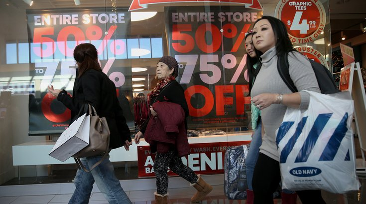 Black Friday holiday hours malls