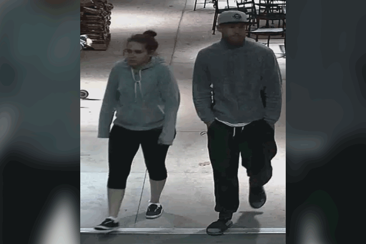 Police: Couple caught on camera stealing purse from woman