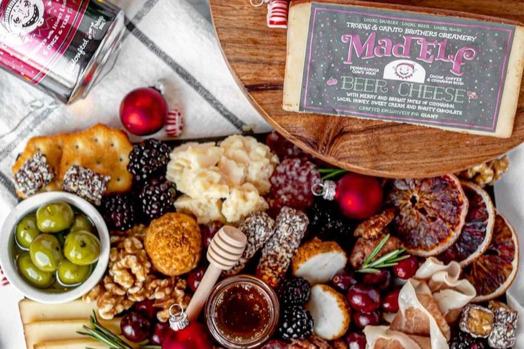 Crumb & Cow holiday cheeseboard