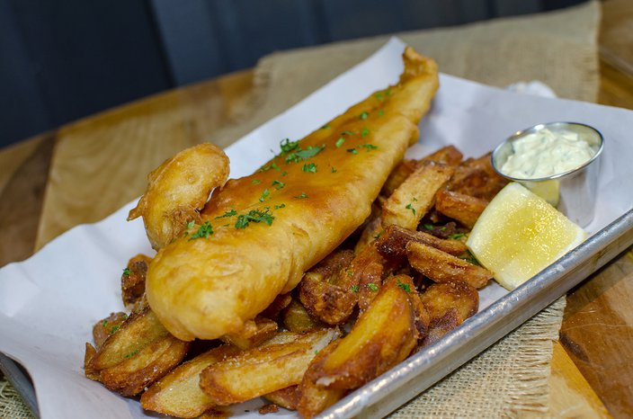 fish and chips pop-up