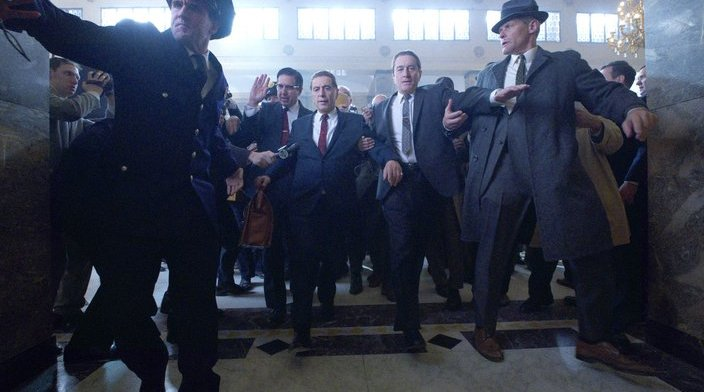 Mob Talk Irishman netflix