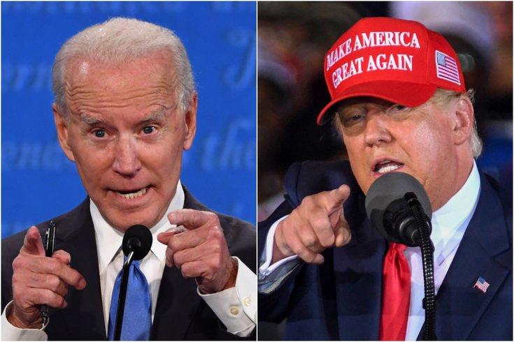 Trump Biden election results