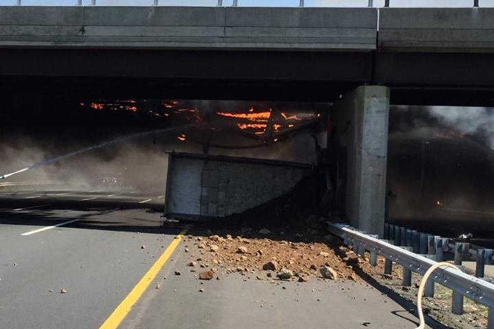 New Jersey Turnpike accident