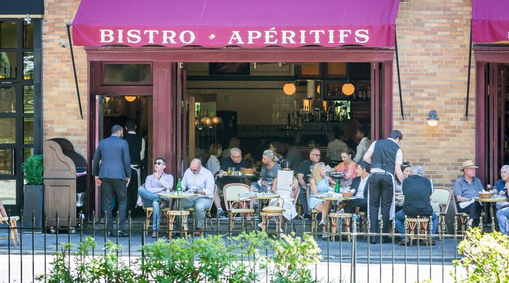 Carroll - Outdoor Dining at Parc on Rittenhouse Square