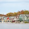 Boathouse Row Schuylkill river