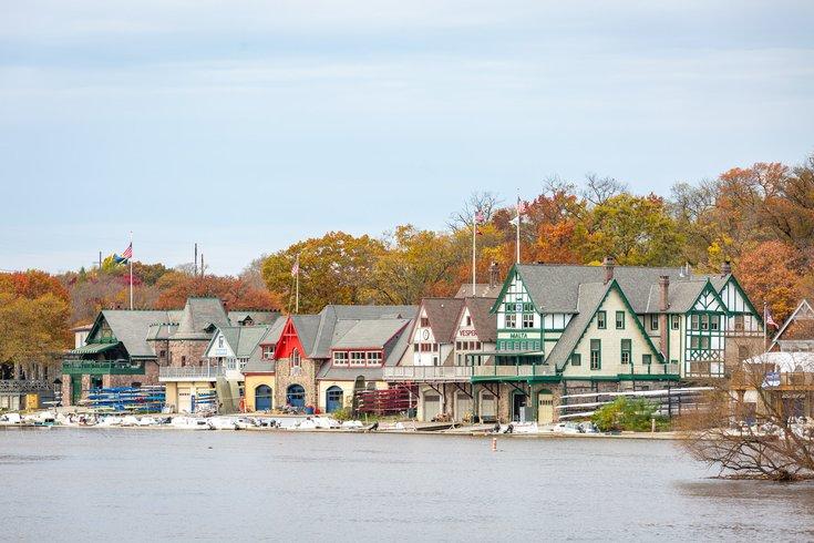 Boathouse Row Schuylkill river
