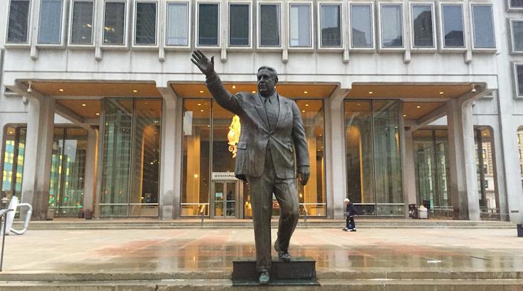 Frank Rizzo statue vandalized