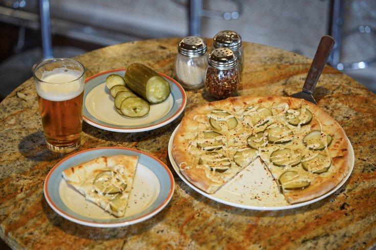 Barra Rossa pickle pizza