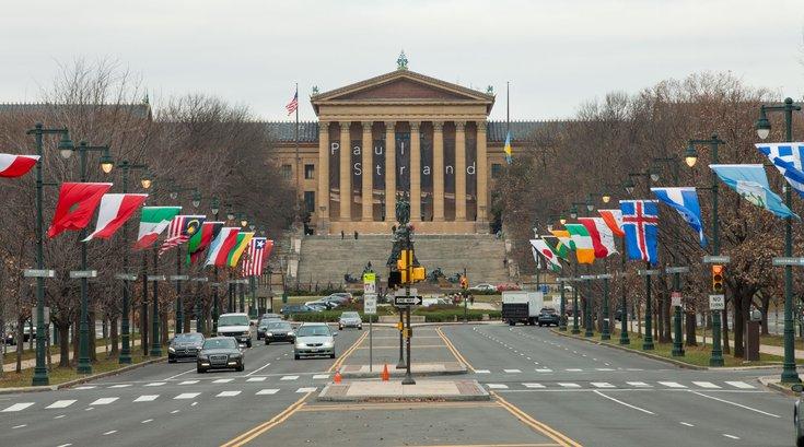 Carroll - Benjamin Franklin Parkway and the Philadelphia Museum of Art
