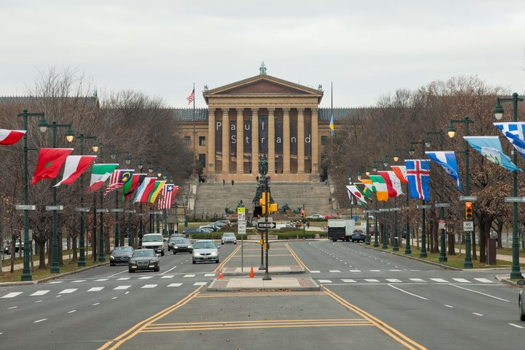 Carroll - Benjamin Franklin Parkway and the Philadelphia Museum of Art
