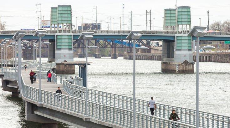 Stock_Carroll - South Street Bridge and Schuylkill Banks Boardwalk