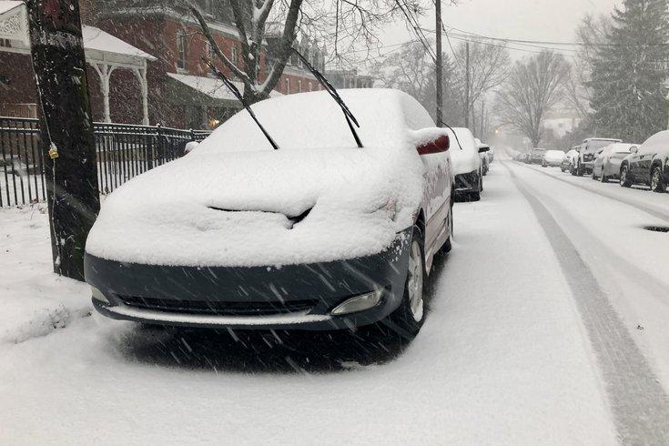 snow car sumac street