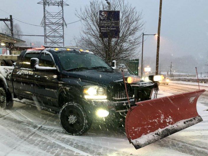 snow plow wissahickon station