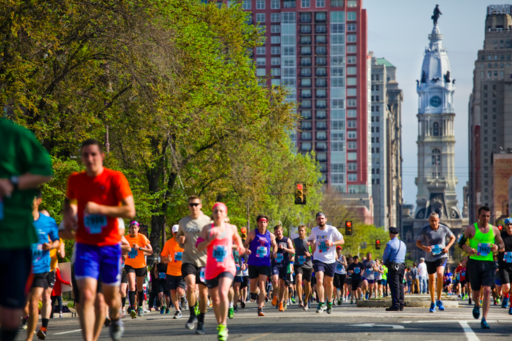 Broad Street Run fall 2021