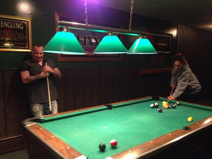 Brownies Irish Pub Pool Tables
