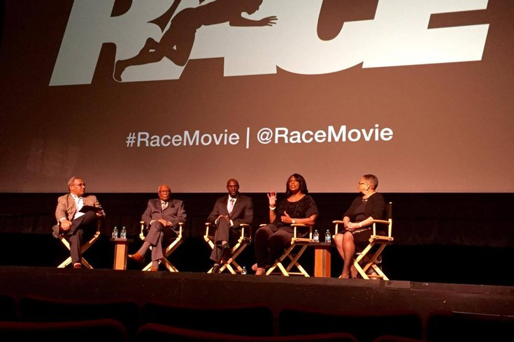Race movie panel