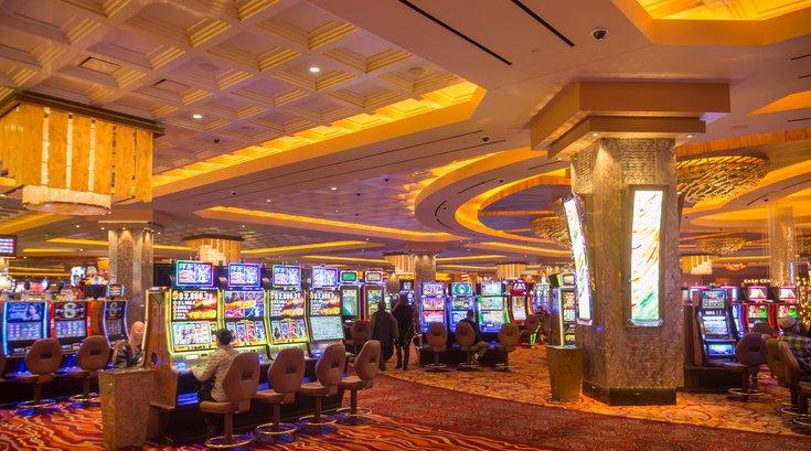 Stock_Carroll - Parx Casino Gambling Slot Machines