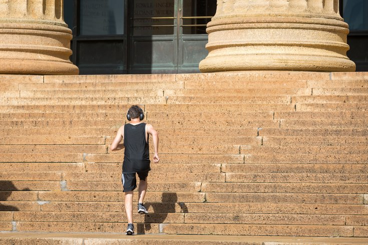 Carroll - Running at the Philadelphia Museum of Art