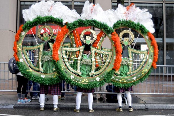 2019 Mummers Parade philly city hall
