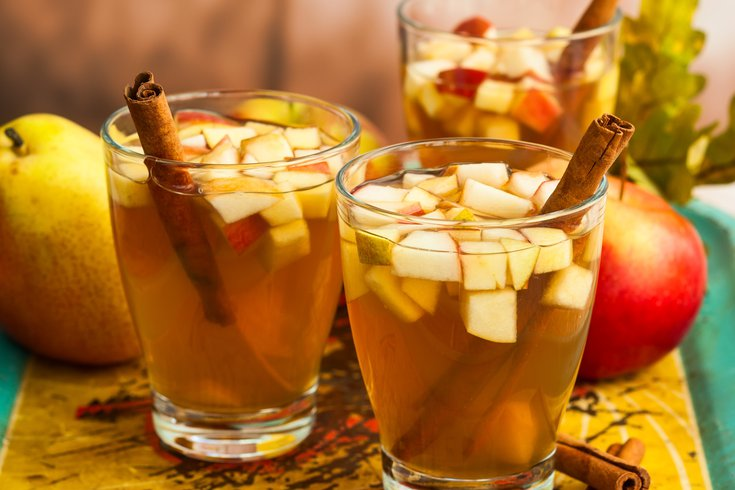 Apple & Gin fall cocktail