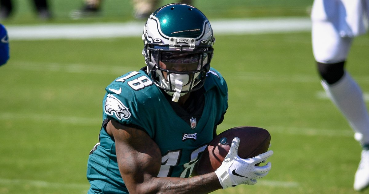 Eagles training camp notes, Day 8: We have a Jalen Reagor sighting! - PhillyVoice.com