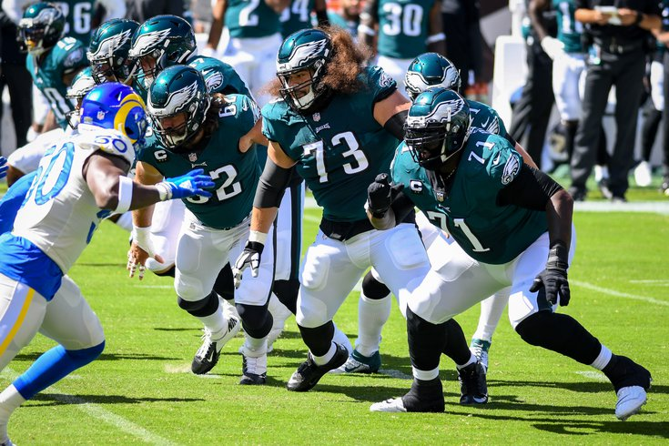 Offensive_line_seumalo_peters_kelce_Eagles_Rams_Kate_Frese_092020
