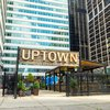 Uptown beer garden