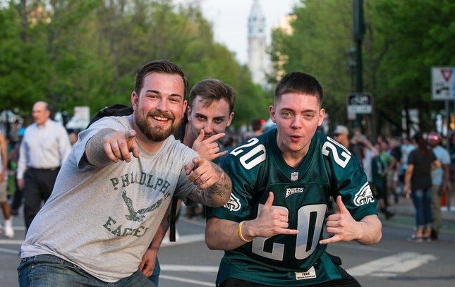 Carroll - NFL Draft in Philadelphia