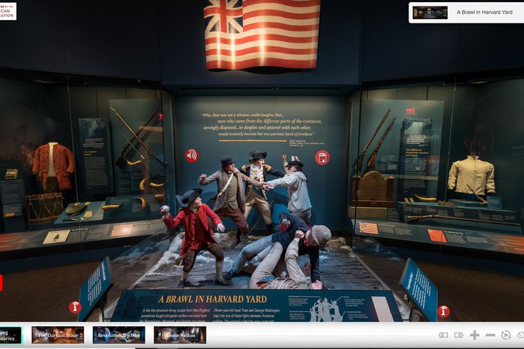 Museum of the American Revolution virtual tour