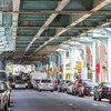 Carroll - The elevated Market-Frankford Line in Kensington