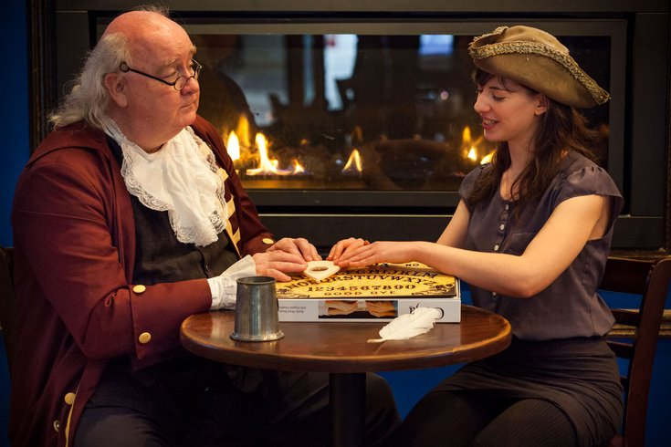 Ben Franklin And Sharon Margolis