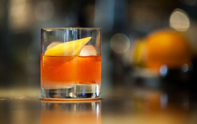 Mezcal Old Fashioned a.bar