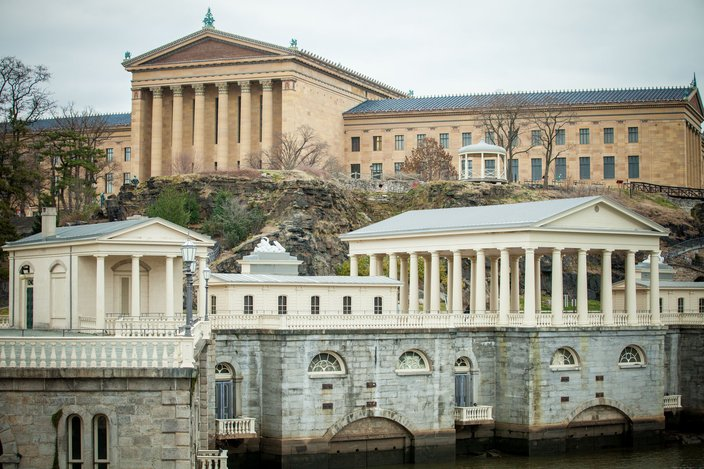 Fairmount Waterworks in Philadelphia