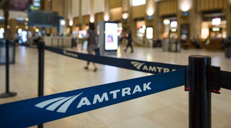 Amtrak at 30th Street Station