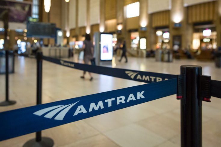 Amtrak at 30th Street Station