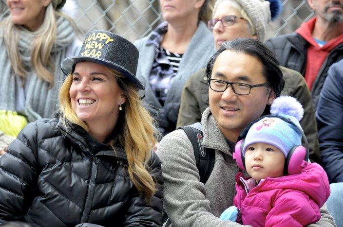 2019 Mummers Parade spectator 2