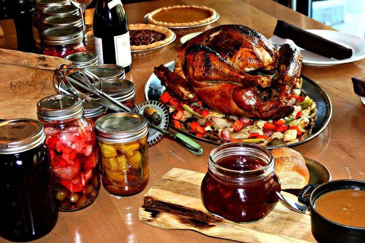 Thanksgiving dinner at Urban Farmer