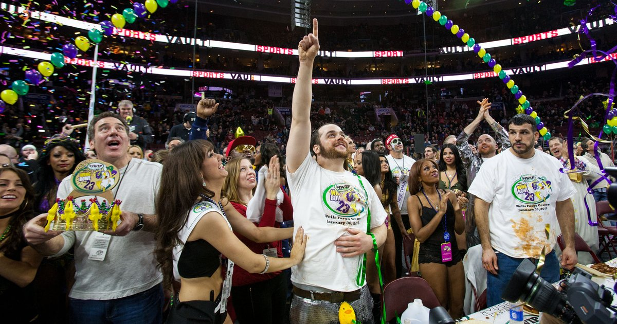 Patrick Bertoletti wins Wing Bowl 23 | PhillyVoice