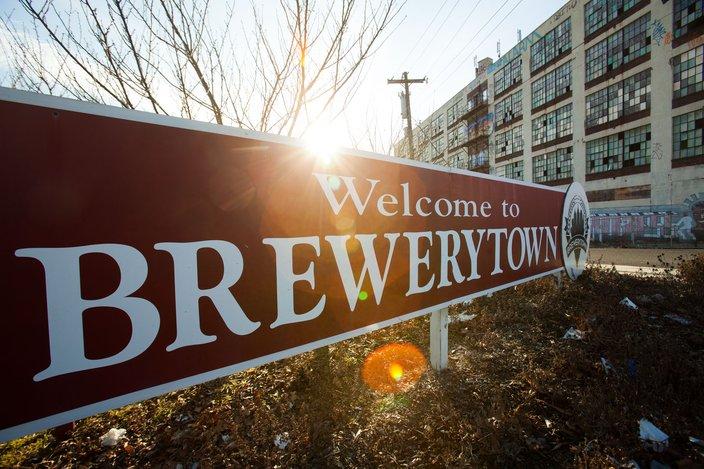 Brewerytown Sign