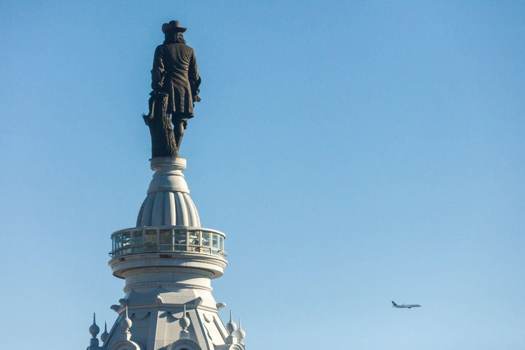 William Penn atop Philadelphia City Hall