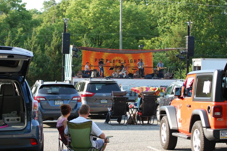 People's Light drive-in concert